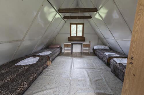 dětský tábor chatka